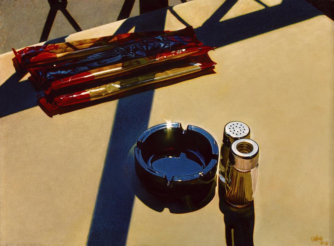 Bellagio , 2004, Acrylic on Canvas, 18 x 24 inches  (inquire)