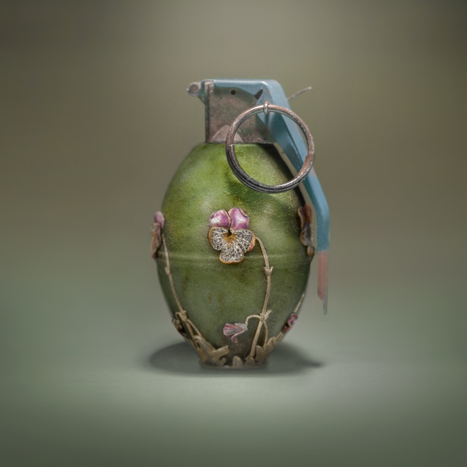 Grenade 16   2015, Archival Print, 40 x 40 inches, Edition of 5  (inquire)
