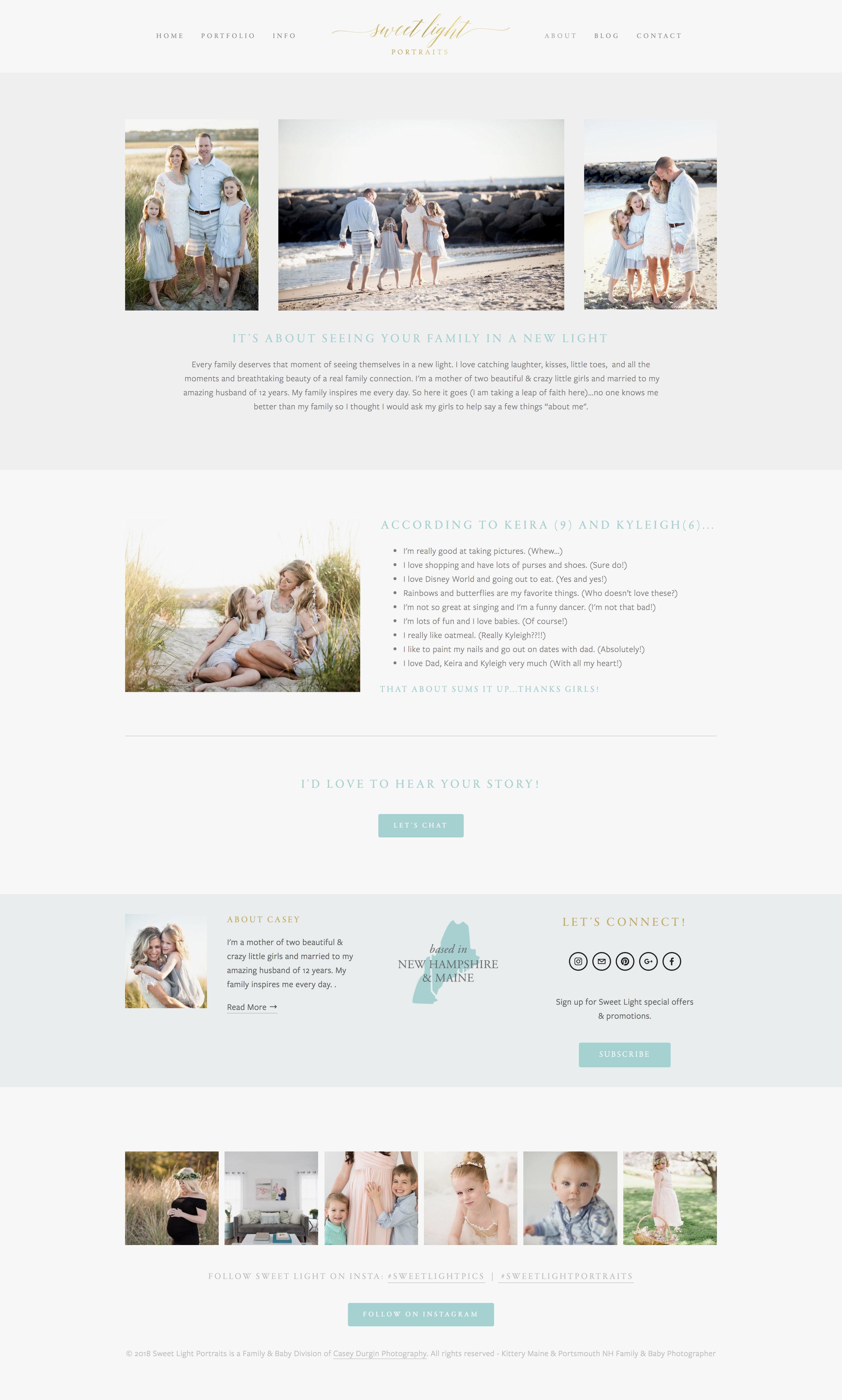 Sweet Light Portraits | Knapsack Creative Co