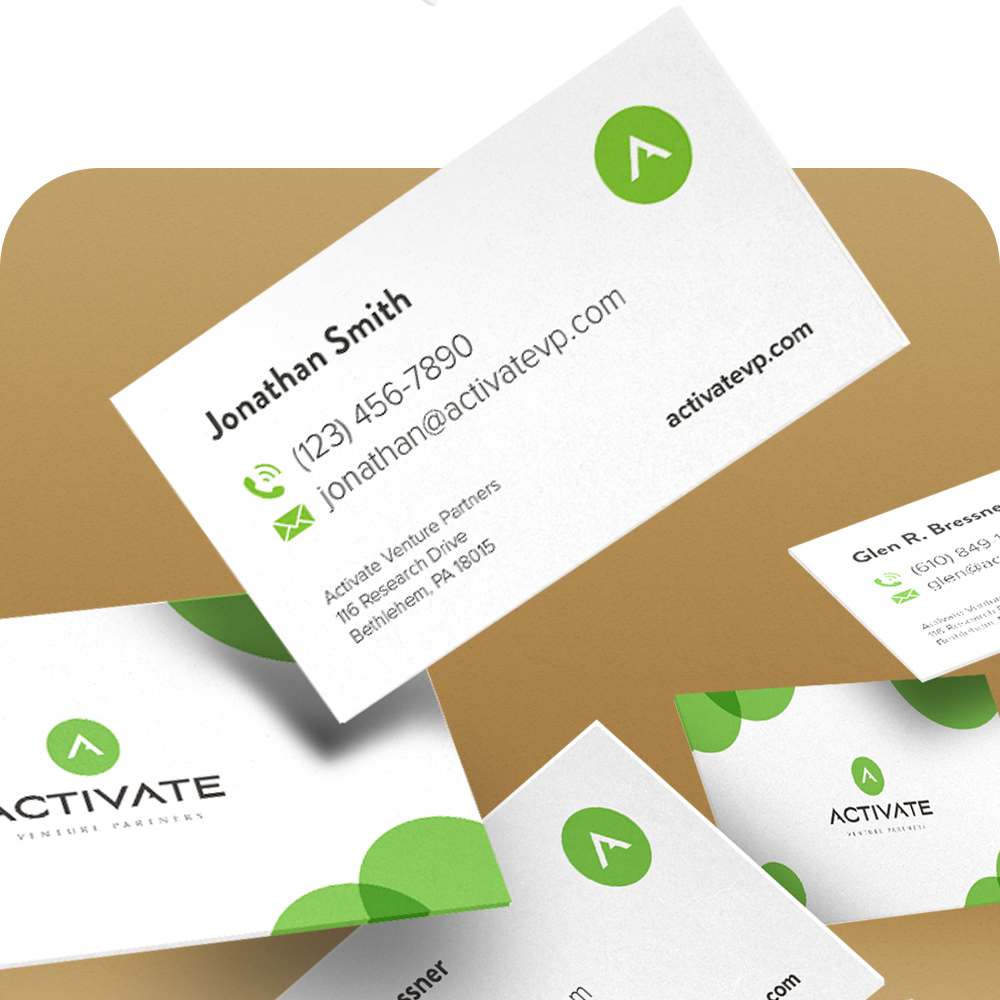 Add-Ons - Add business card design, presentation design, email template design, and more to one of our other services.