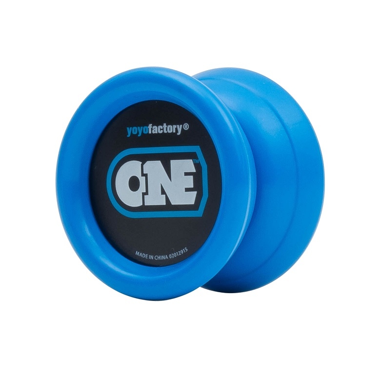ONE   UPC: 689076163125  Part #: 16312  The ONE™ offers a comfortable modern shape, a variety of colors to choose from, silicone response, ball  bearing, and extra durable plastic. The best part about this yoyo is that it is perfect for beginners! The  ONE is virtually maintenance free, requiring no special oil or lubrication and there are no complicated  parts to put together. Learning how to yoyo has never been easier!