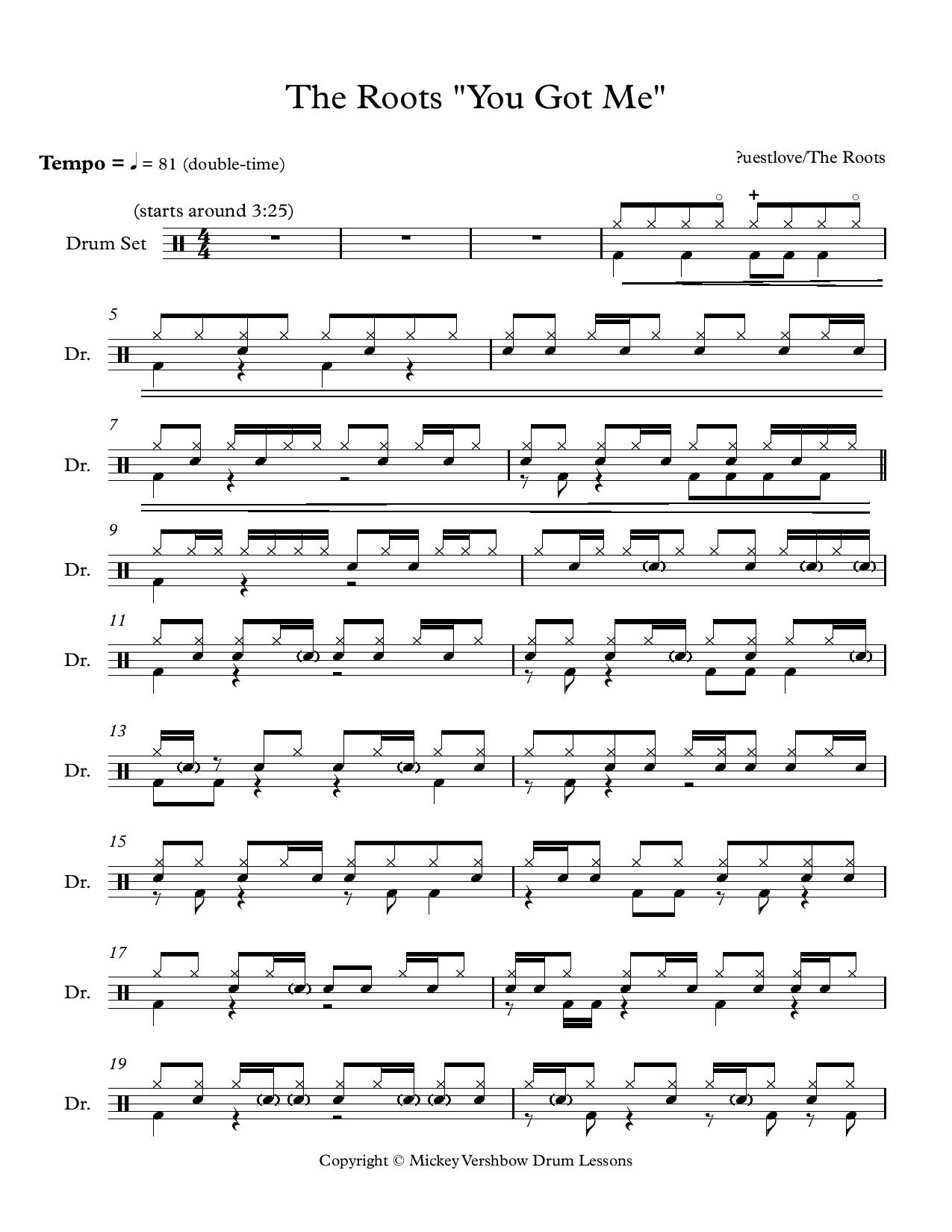 You really got me sheet music pdf