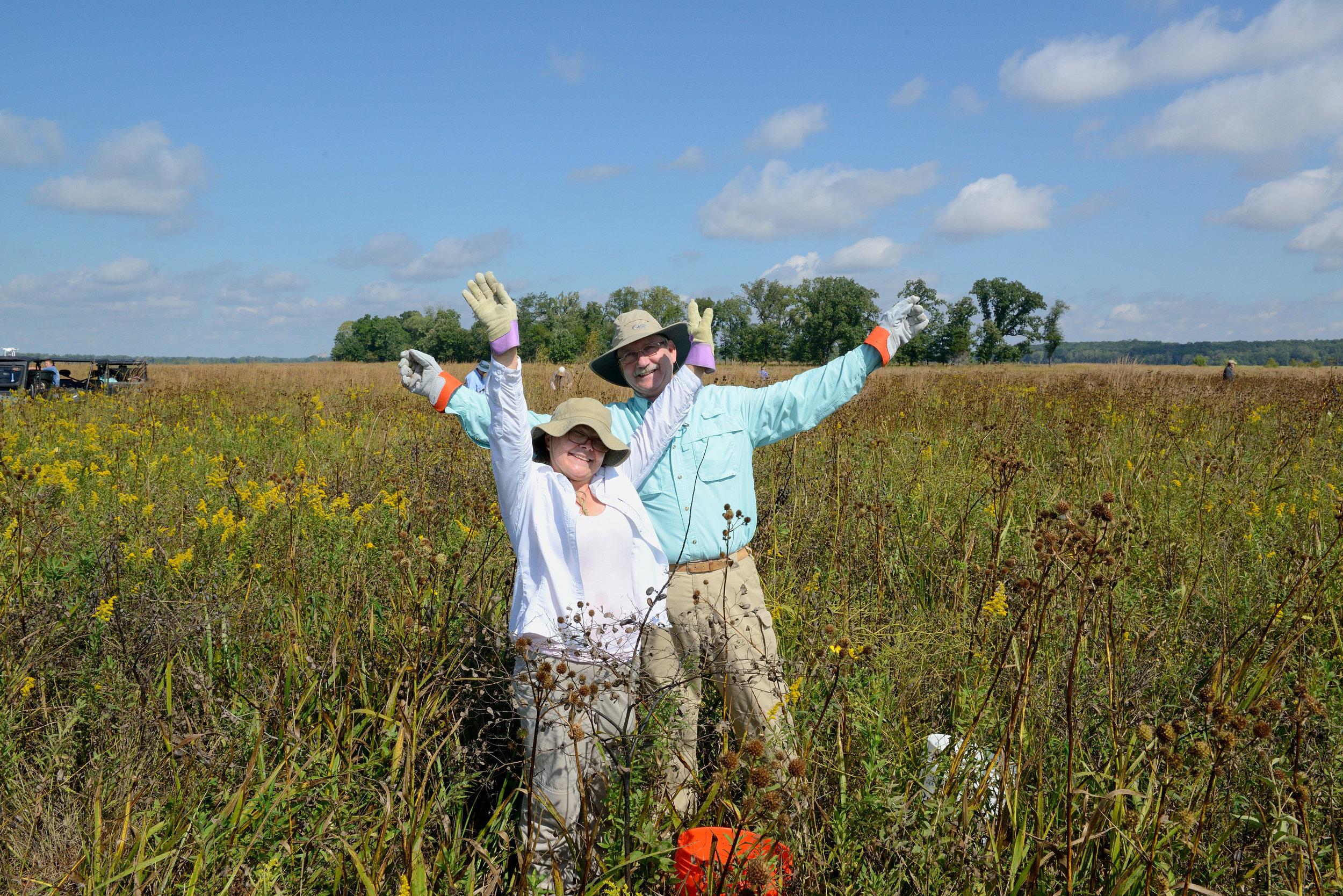 Happy harvesters!