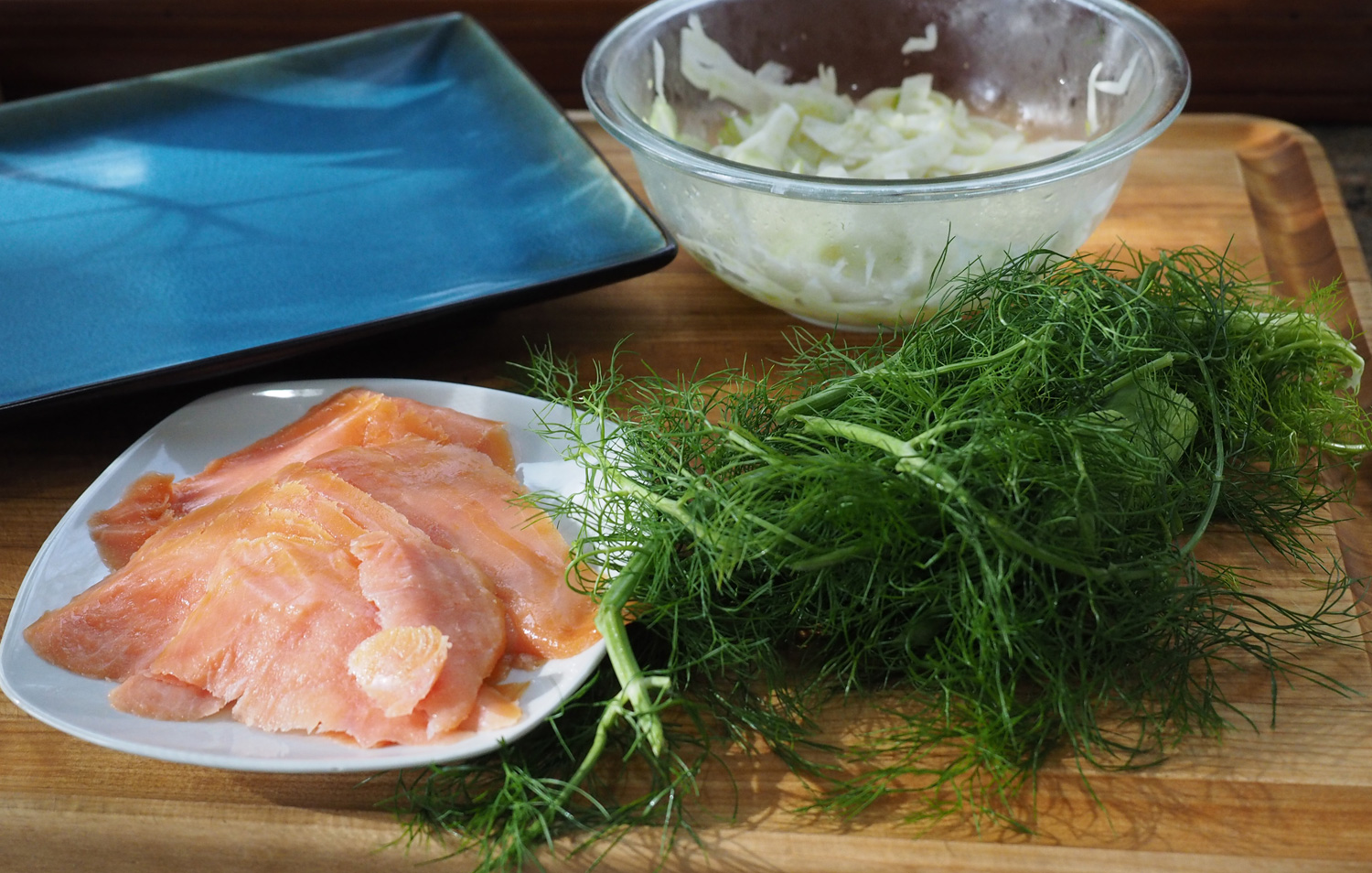salmon & fennel
