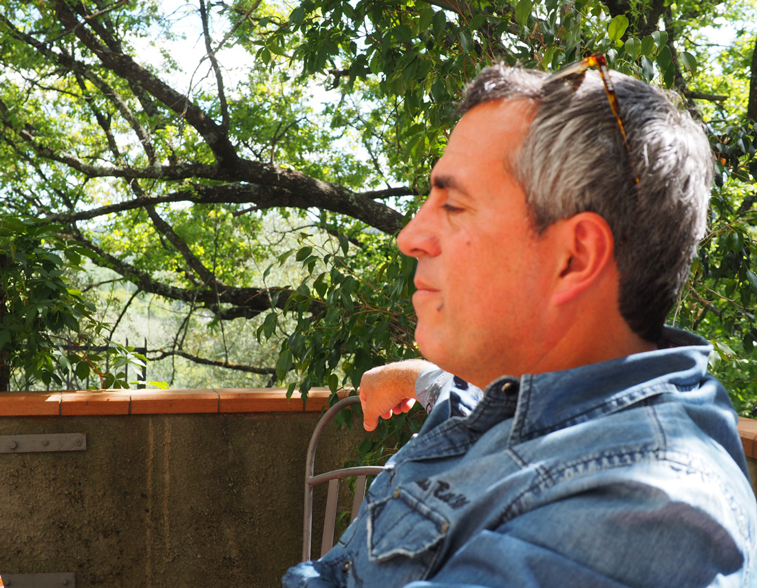 JC, under the Tuscan sun