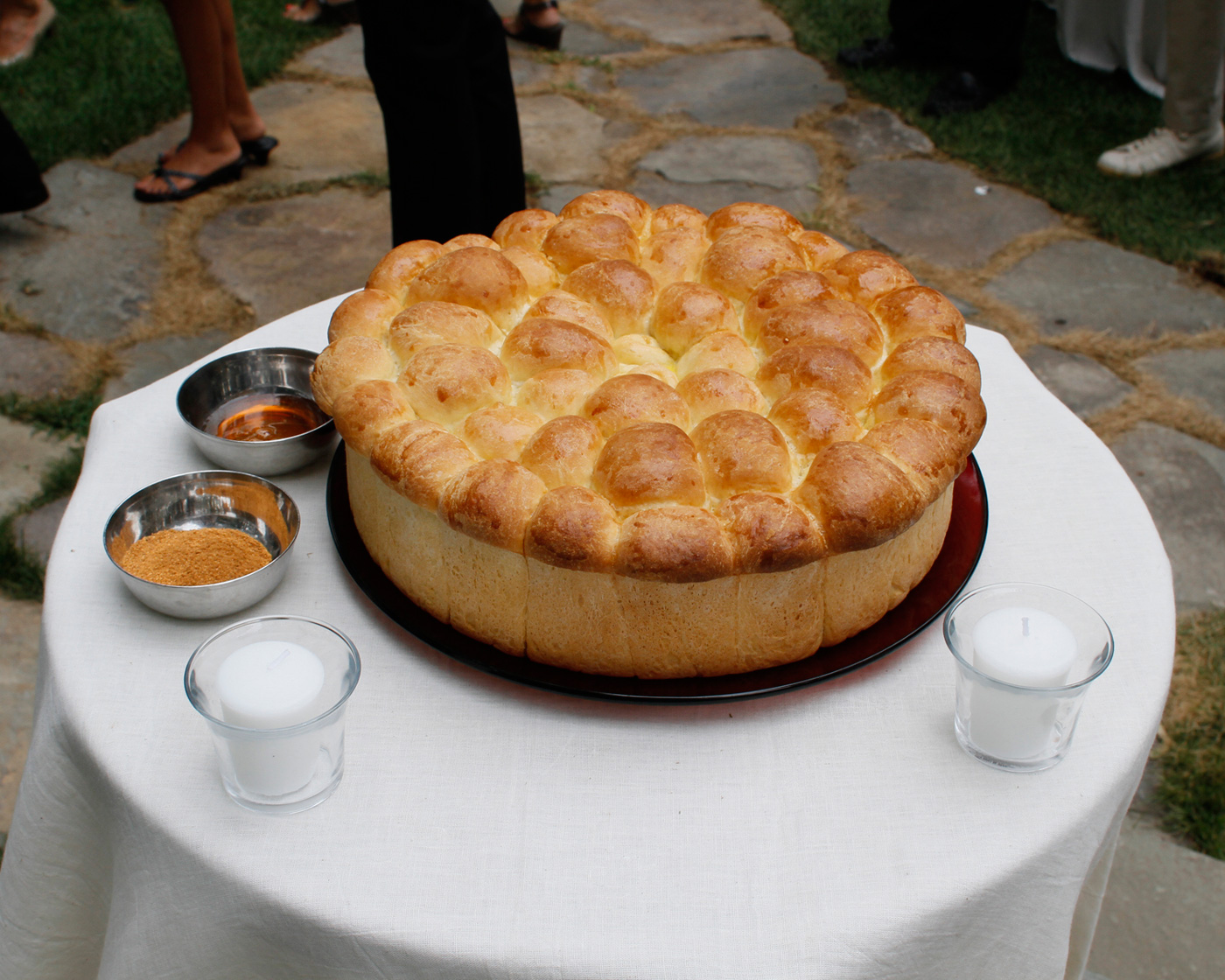 Bulgarian Bread Ceremony