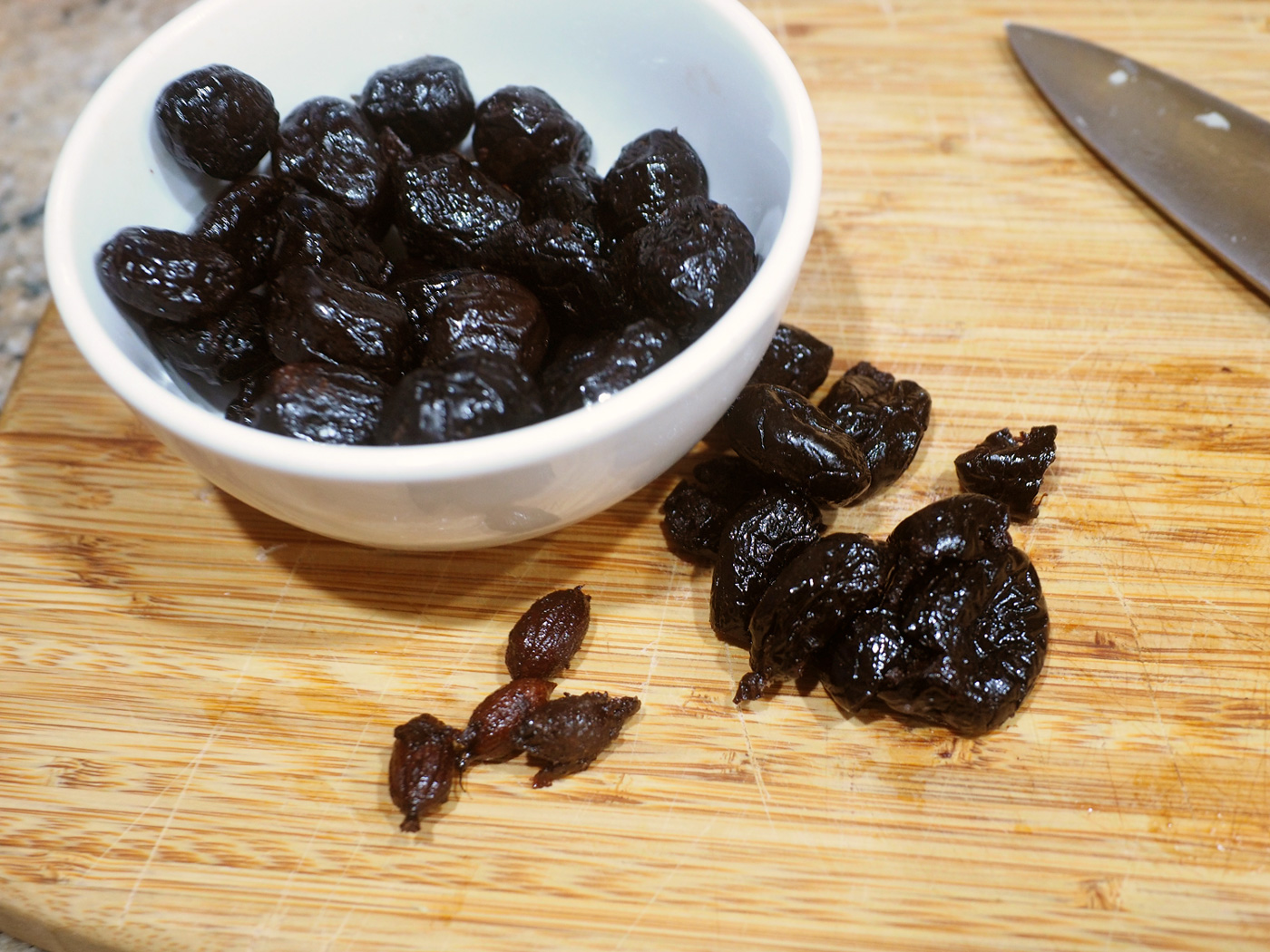 Moroccan Black Oil Cured Olives