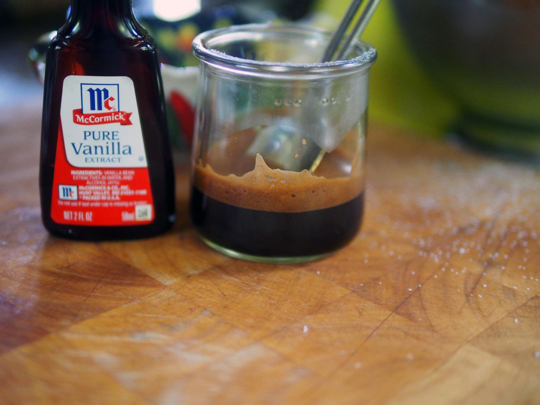 Espresso and vanilla.