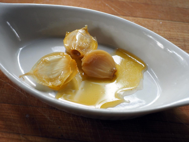 Sweet and tender garlic.