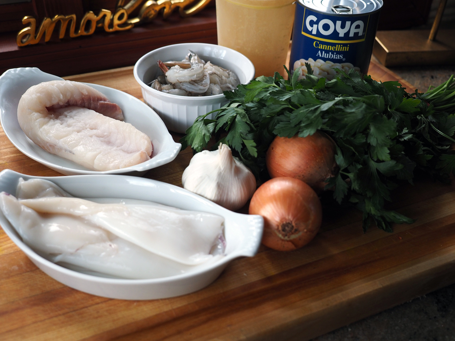 A few simple ingredients make a fish soup that will be remembered.