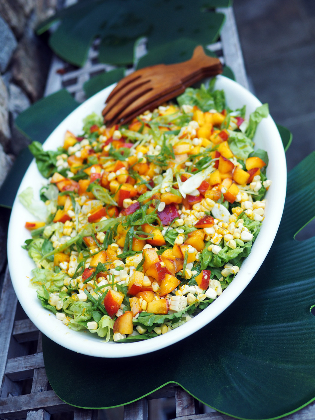 Corn & Fruit Salad
