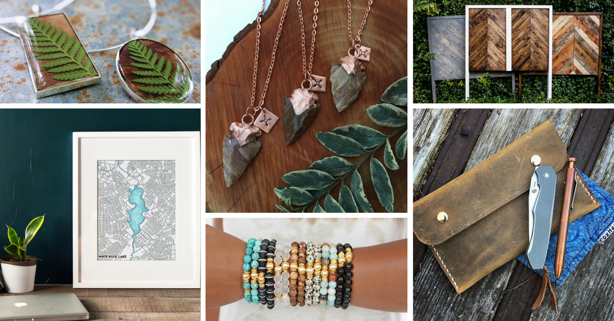 Dallas' Best in Handmade - Shop from over 70 artists offering unique handmade wares. From original art, home goods, and artisanal soaps, to local jewelry designers, leather workers, and so much more! Check out our artists gallery here.
