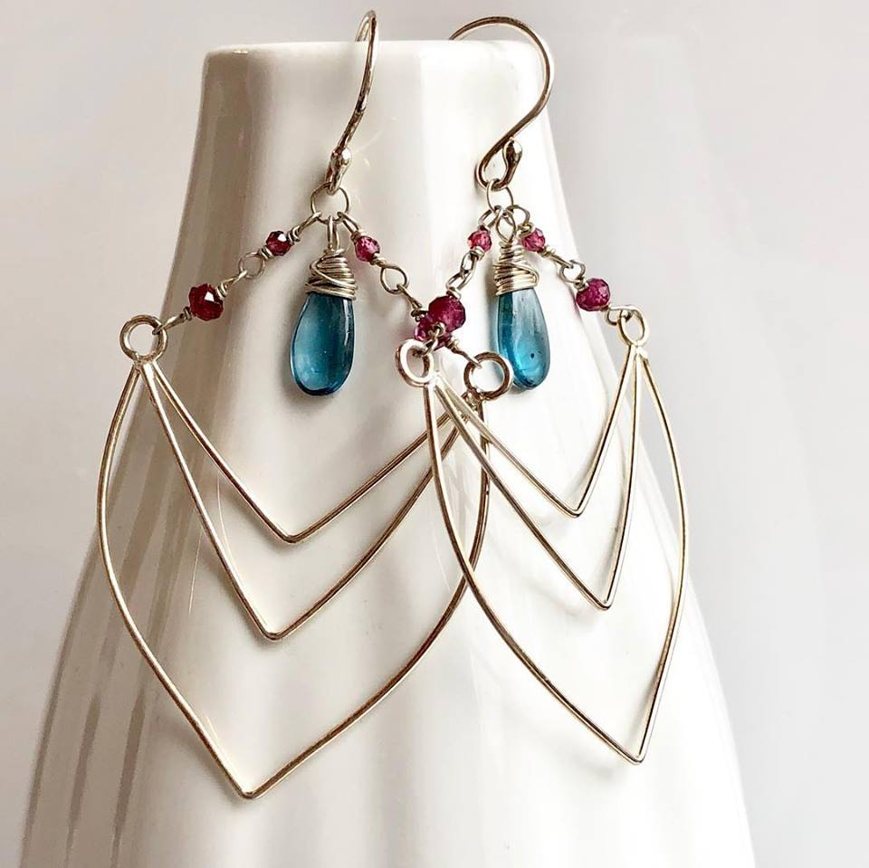 Earrings by Eryn