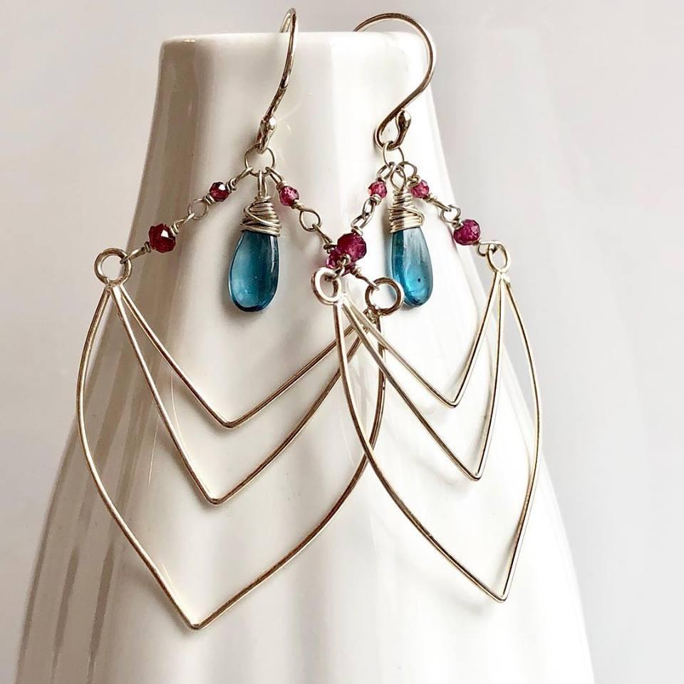 Earrings by Eryn