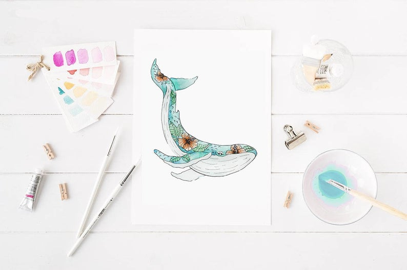 Teachers and parents alike deserve to unwind with these DIY watercolor kits by  Maxa X Kiwi .