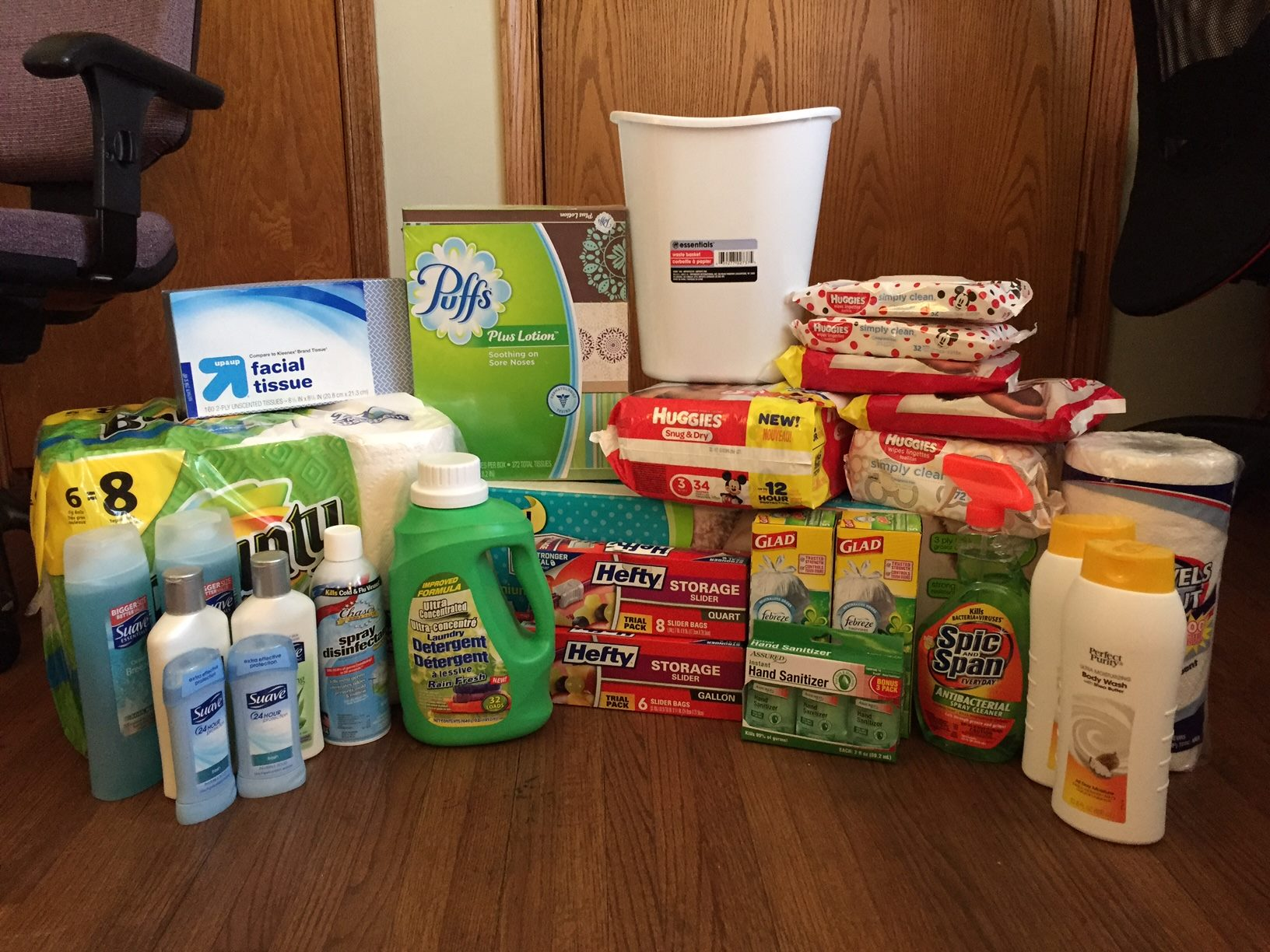 Just a small snapshot of all the items that were donated