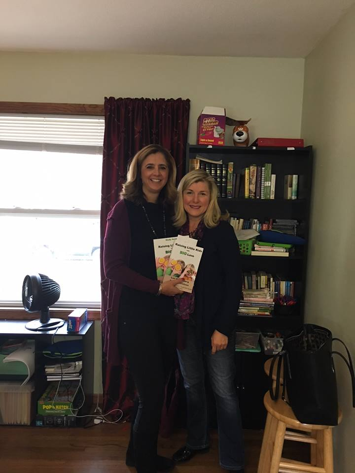 Children's Program Manager, Julie Sexson, with Becky Danielson