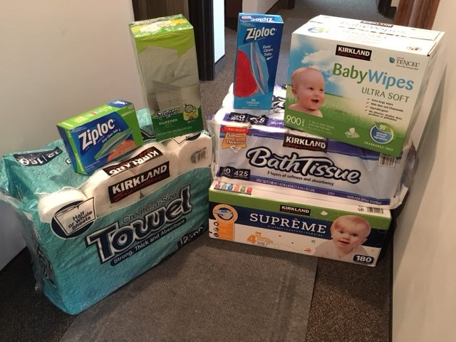 Donations from the VanGuilder family.