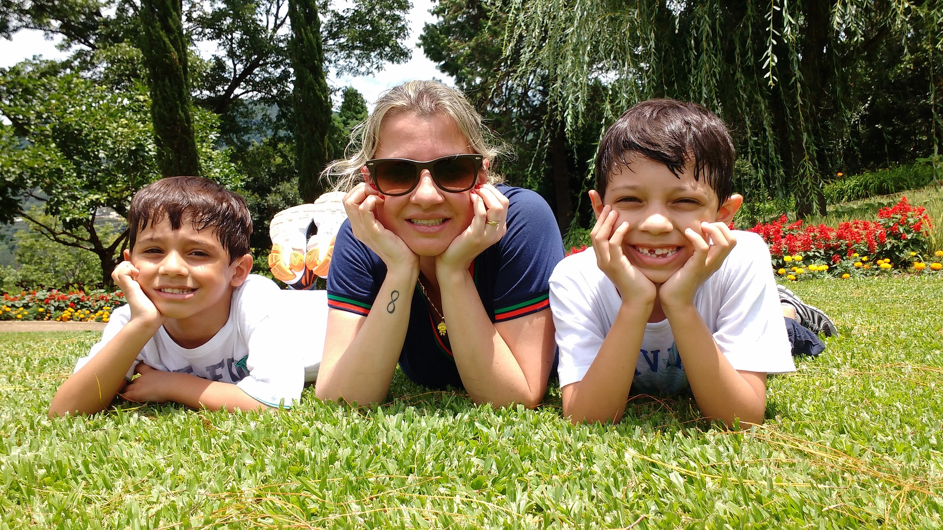 We love seeing the joy God brings to those we serve! (this is not a pic of the author and her boys, to protect their identity).