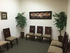 San Clemente Medical Day Suites Reception Area