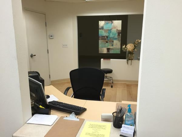 San Clemente Medical Day Suites Reception
