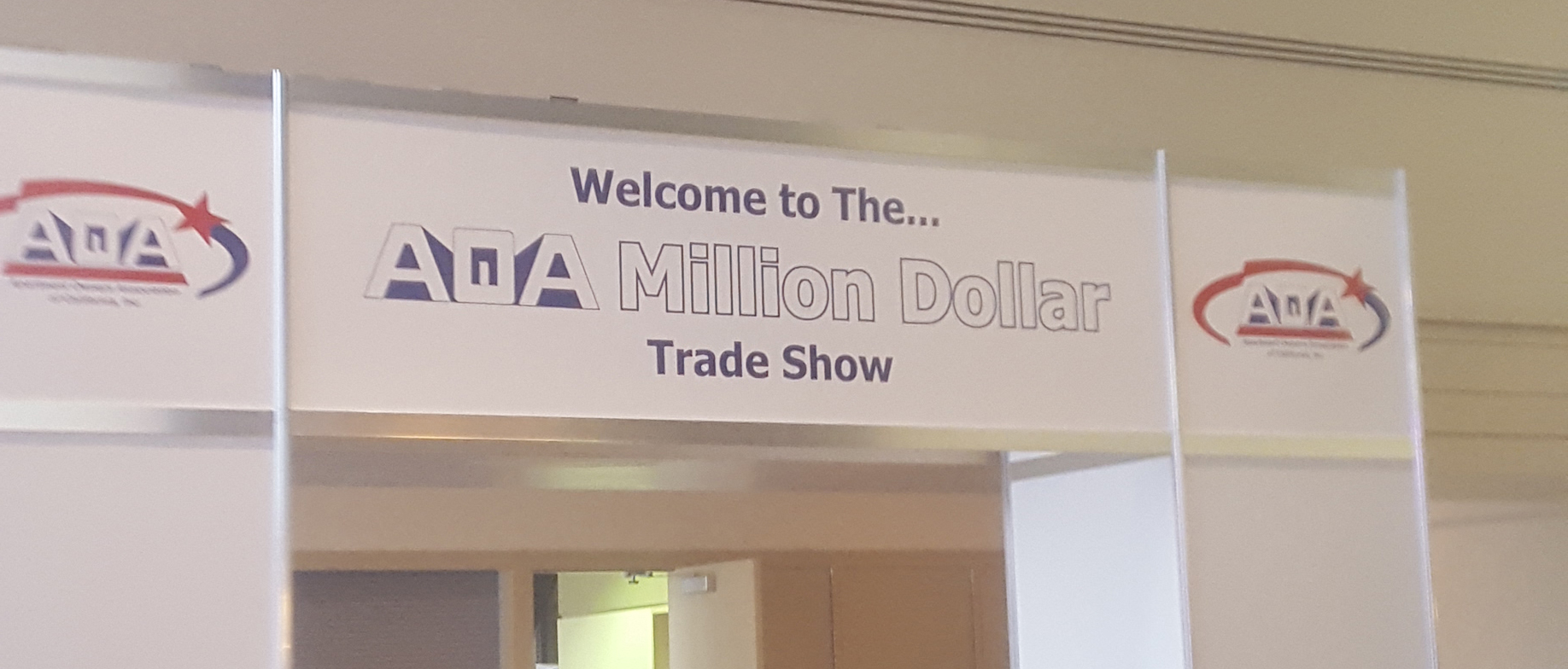 Apartment Owners Association Trade Show Entrance
