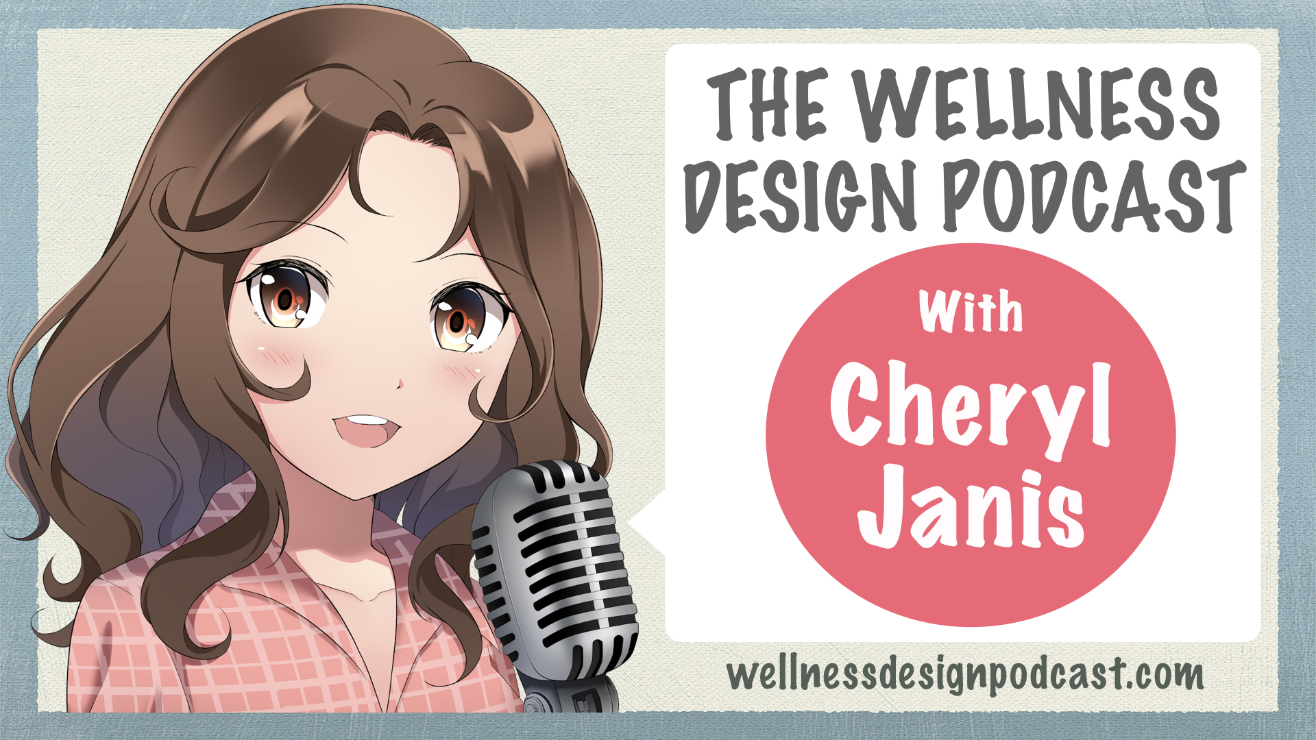 Thanks For Listening! - Healthcare interior designer Cheryl Janis invited me to join her on the Wellness Design Podcast, and we had a great conversation about the role of beautiful art in healthcare spaces. If you'd like to listen again, or check out any of her other episodes, just click the button!