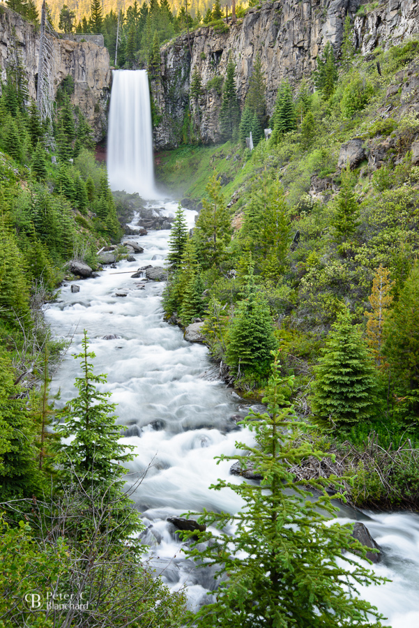 Tumalo Falls, Deschutes National Forest, Oregon.