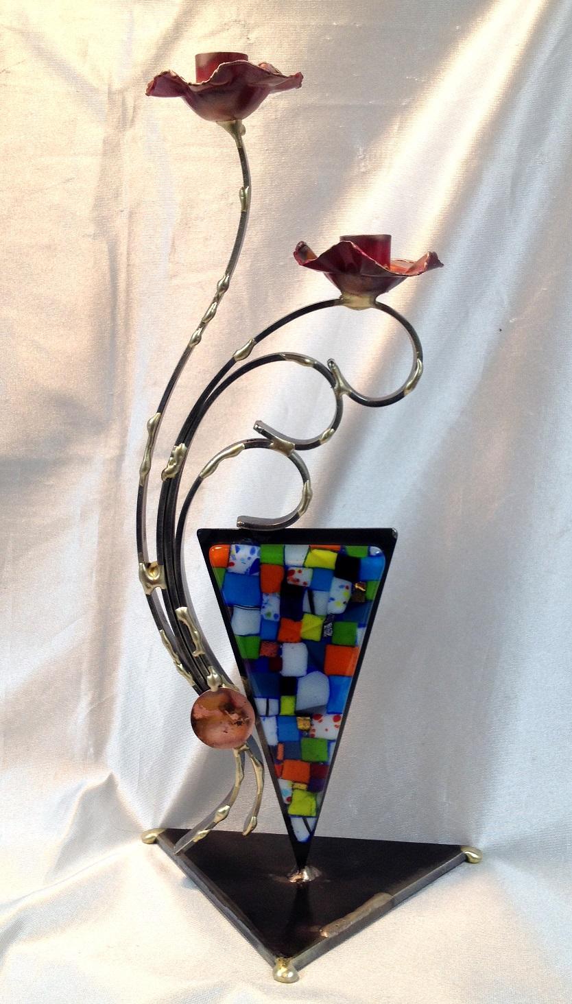 - Large Candlestick Design