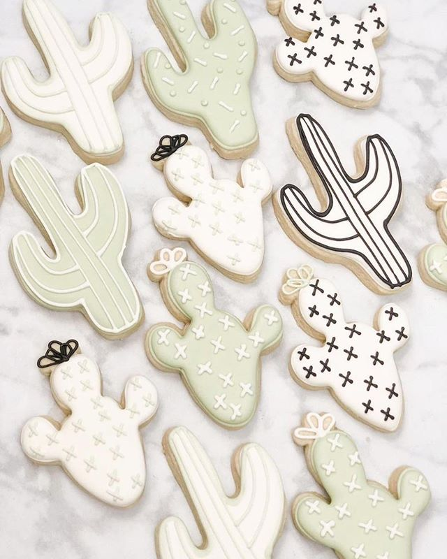 YAY 🌵 @adancingbaker is blessing us all with her beautifully iced cookies at First Thursday 🙏🏽 shop her lil bites of heaven on March 7th 6-10pm