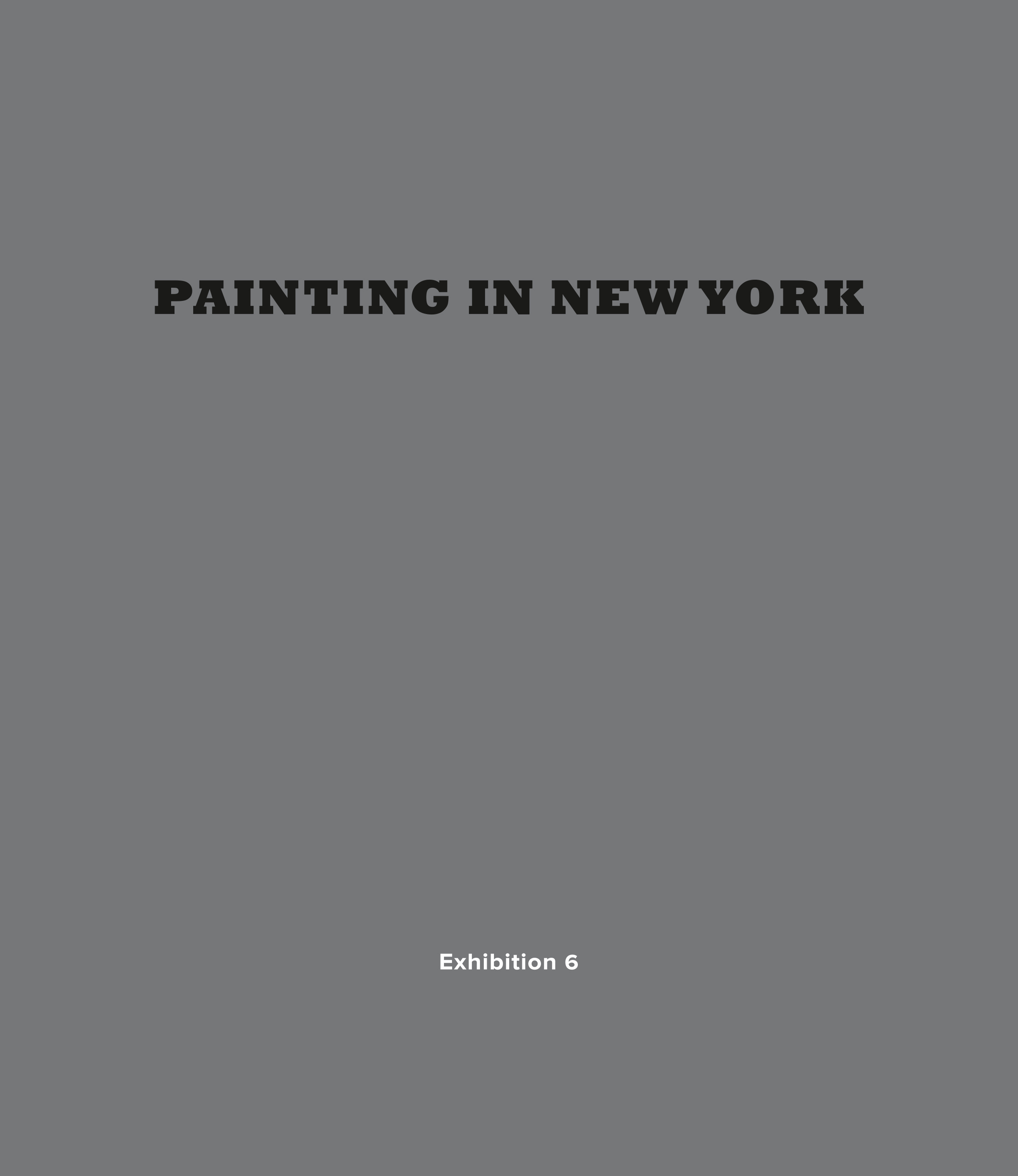 P ainting in New York  - at Leigh Morse gallery, NYC, 2017