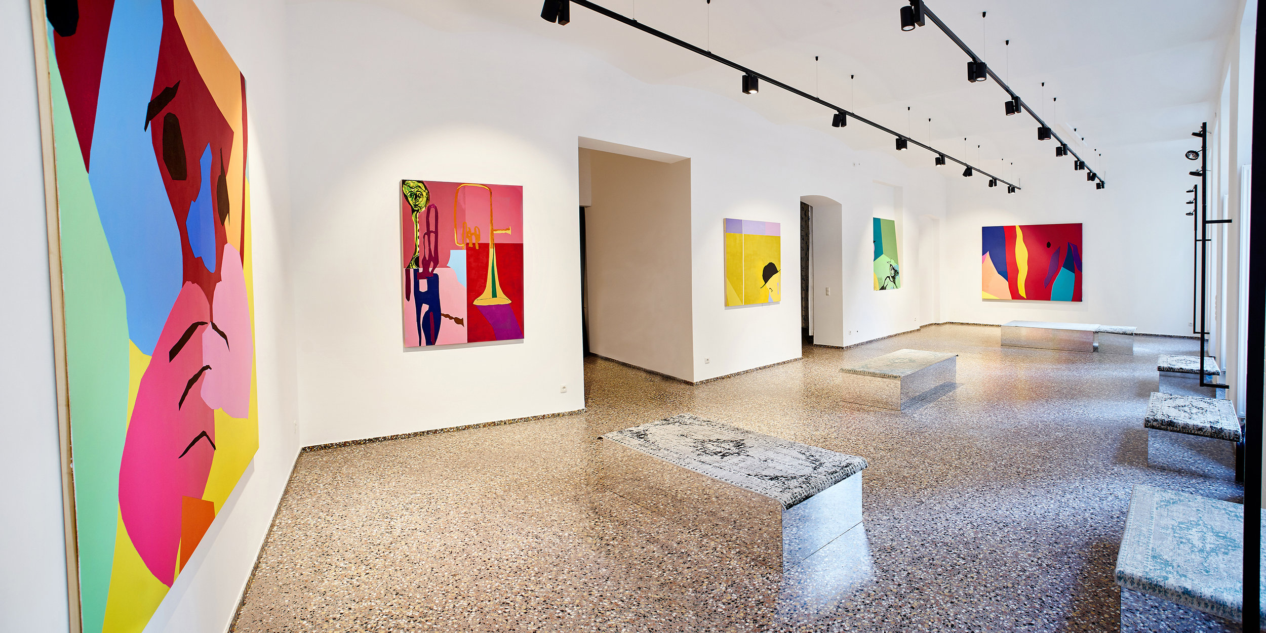Recent Paintings   EGMS Studio, Vienna September 2016