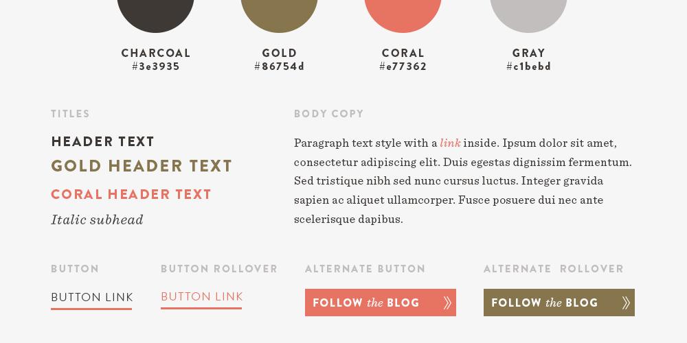 Web Design Style Guide | Spruce Rd. #webdesign