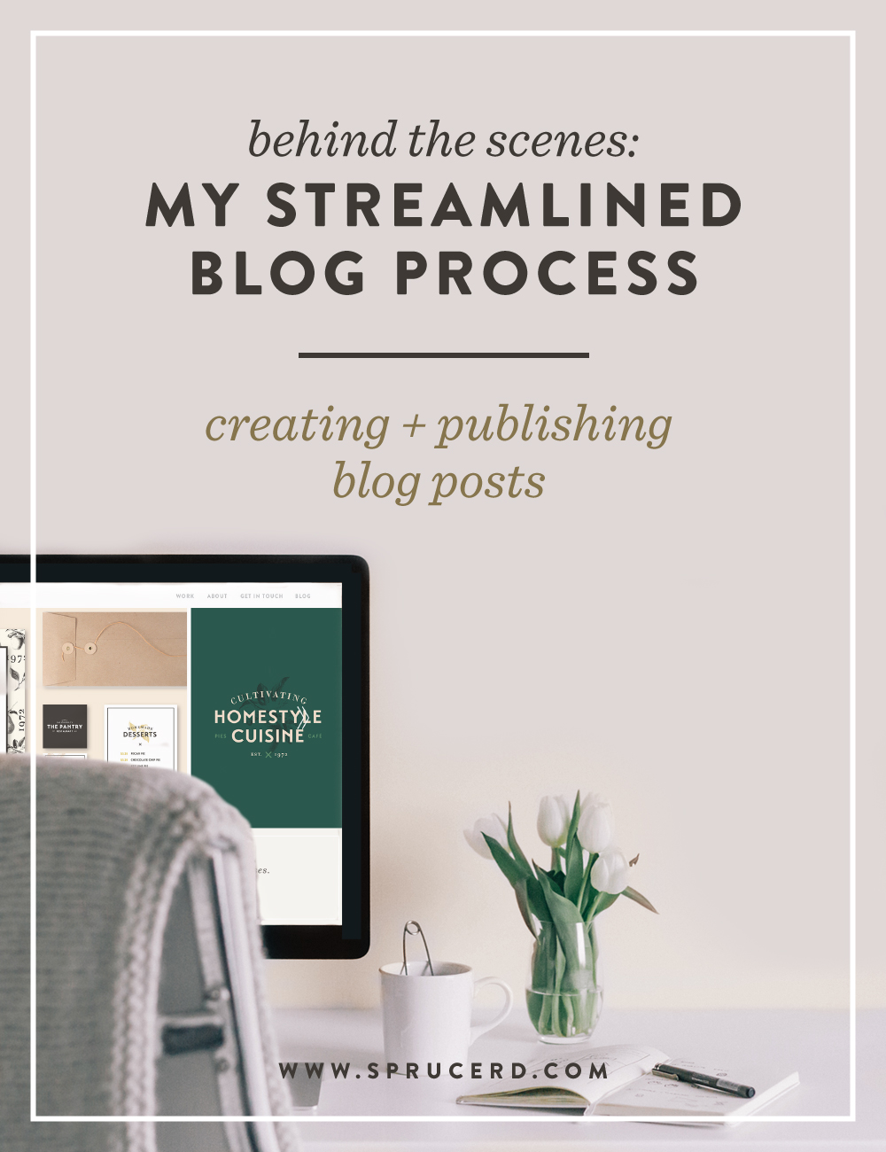 My Streamlined Blog Process | Spruce Rd. #blogging #process