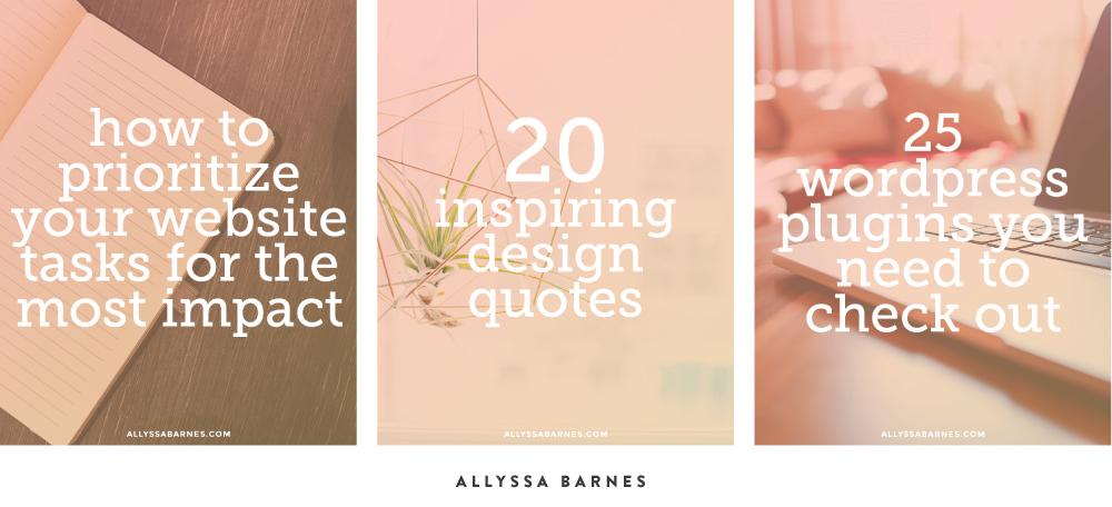 10 ways to create share-worthy design | Spruce Rd. #branding #blog #design