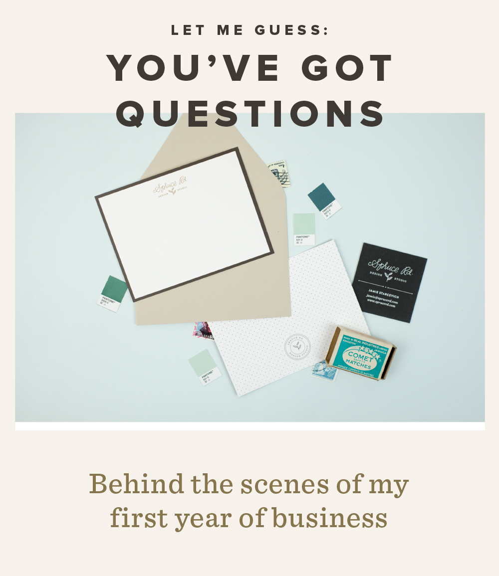 It's been one year since opening up my design studio. I'd love to answer any questions you have in an upcoming workshop or future blog posts! Thanks for your endless encouragement throughout this year, and for taking the survey.