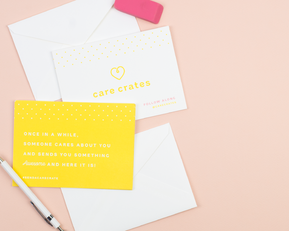 Care Crates  Brand identity, packaging design, stationery, icons    view project