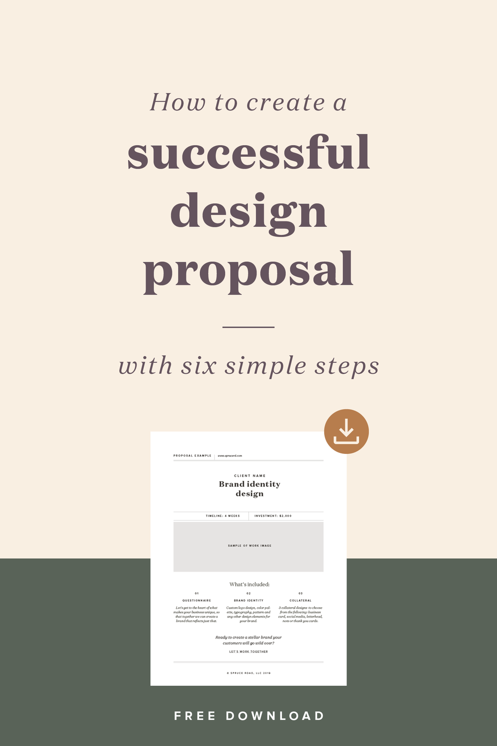 How to create a successful design proposal — Spruce Rd.