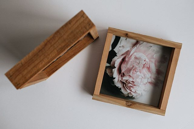 Oh hey! What's this 👆🏻you may be wondering. Well I've been experimenting with printing and framing some of my photos.⠀ ⠀ These peonies are actually from my mom's garden and are mounted on birch and framed in rustic cedar. ⠀ ⠀ Details: 8X8 $45 each Shipping not included