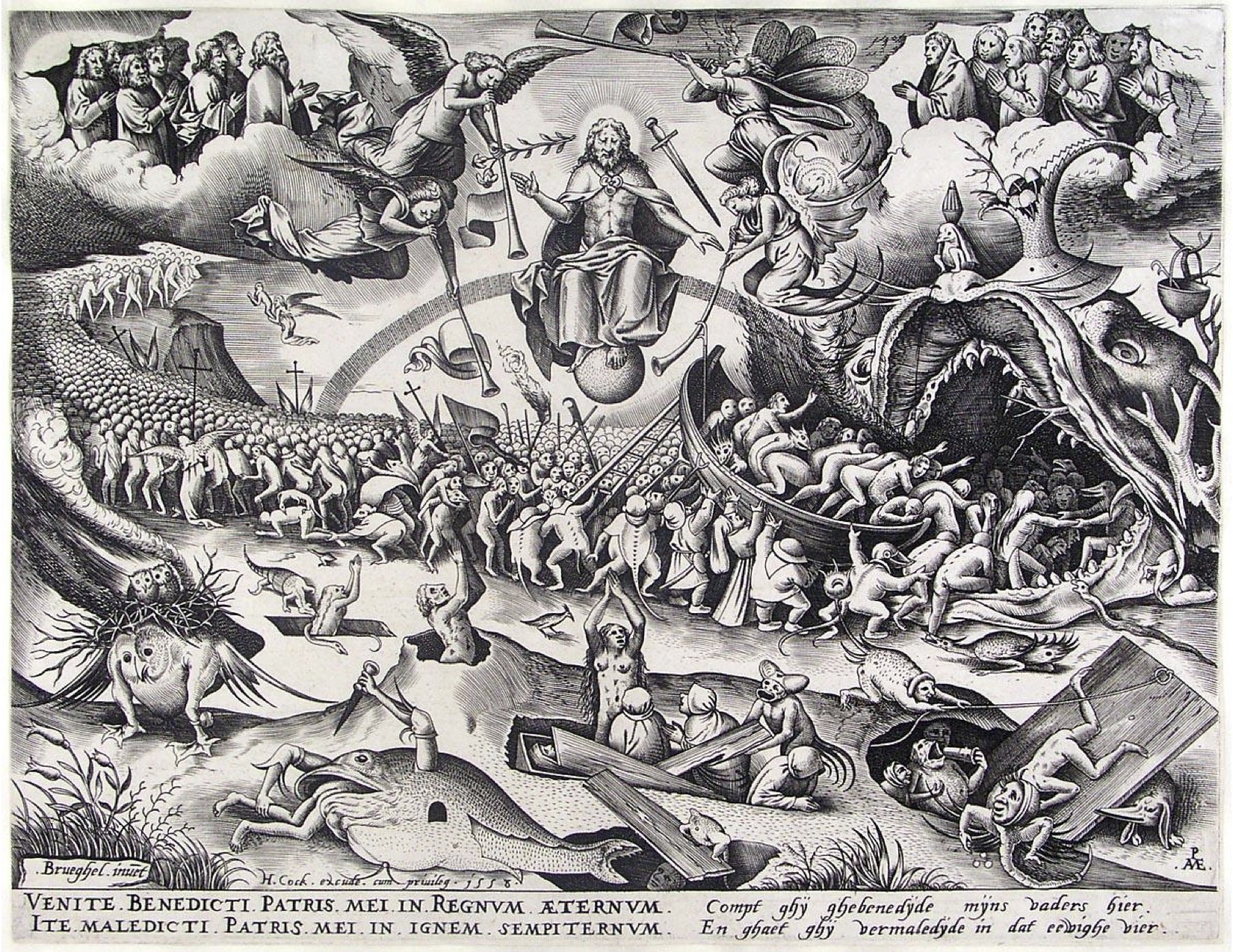 "Pieter Bruegel the Elder's ""The Last Judgement"""