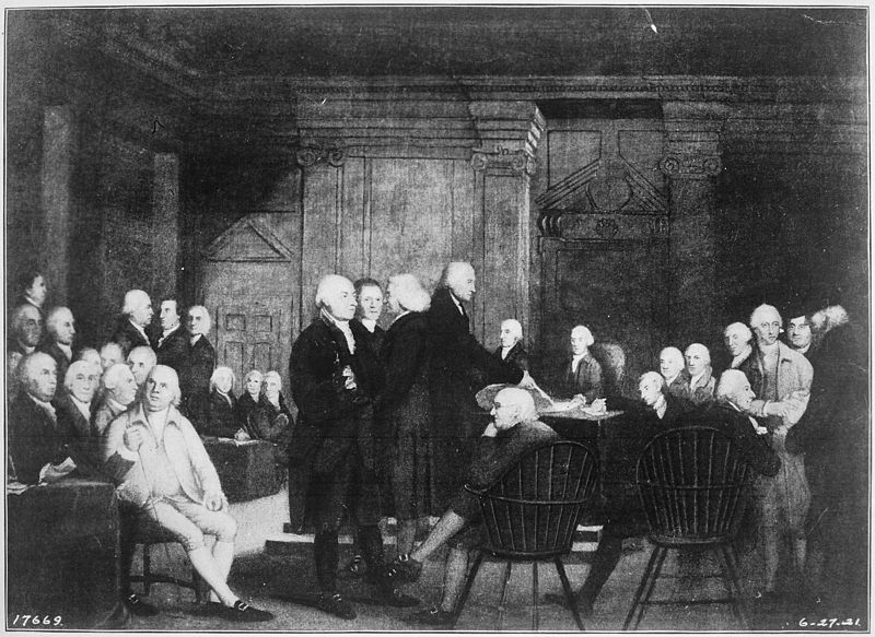 Our Founding Fathers vote for independence at the Second Continental Congress.