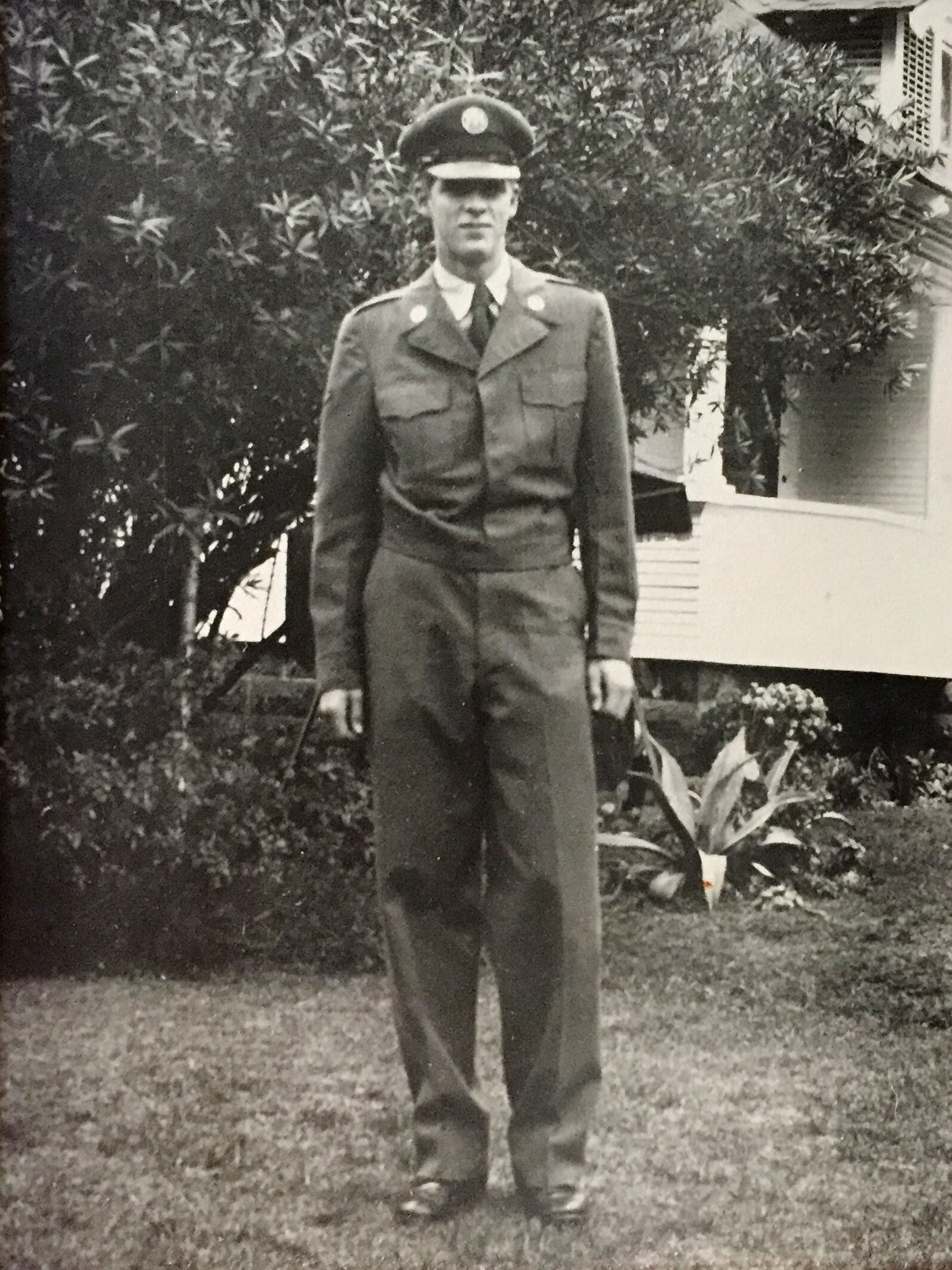 Portrait of Air Force Private Larry L. Meyer, Fall of 1951.