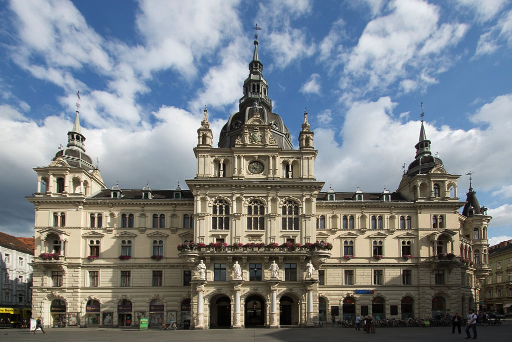 The venue will be set up in the city center, Hauptplatz Graz.