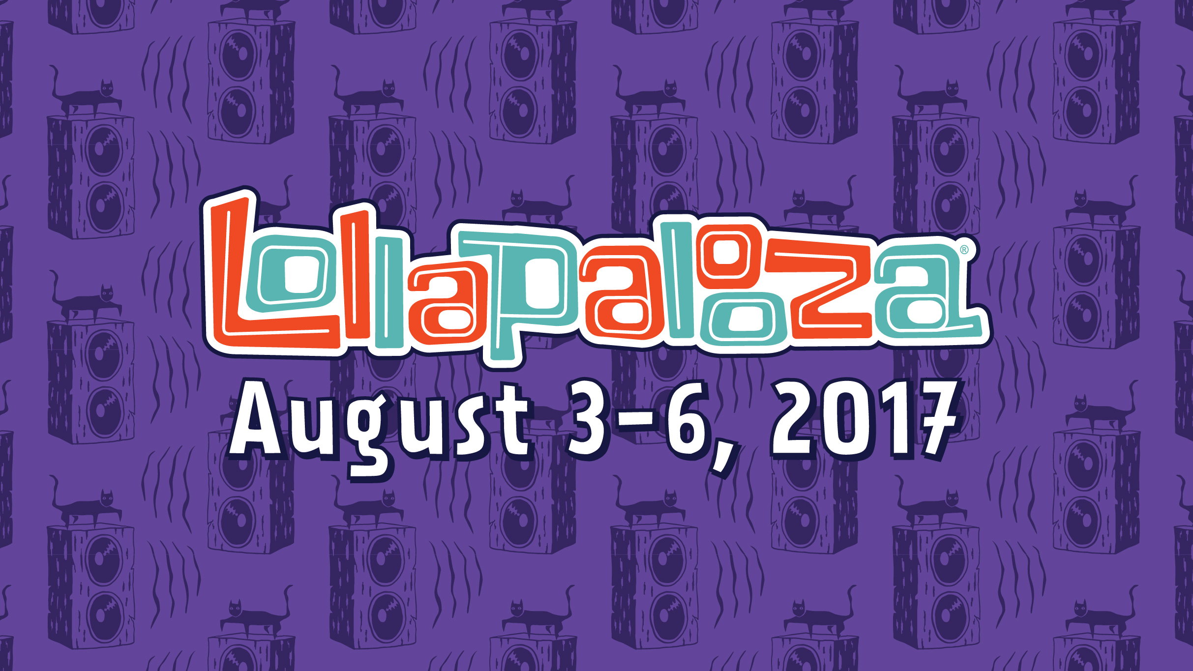 Two 4-day VIP Passes to Lollapalooza