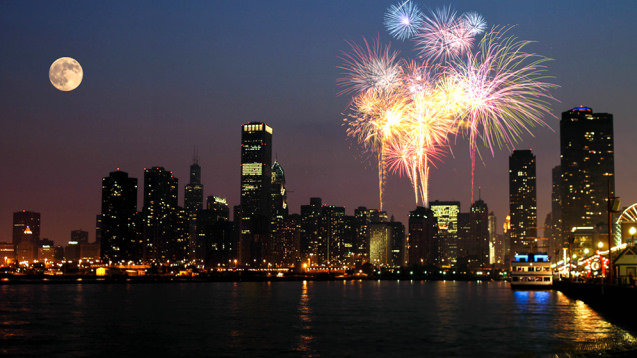 Boat Cruise and Fireworks