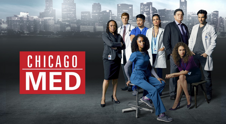 """""""Chicago Med"""" Signed Scrub"""
