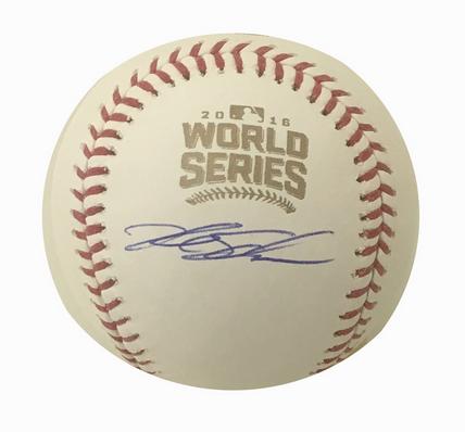 Cubs World Series Baseball