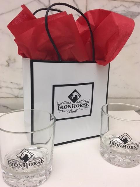 IronHorse Ball Rocks Glasses