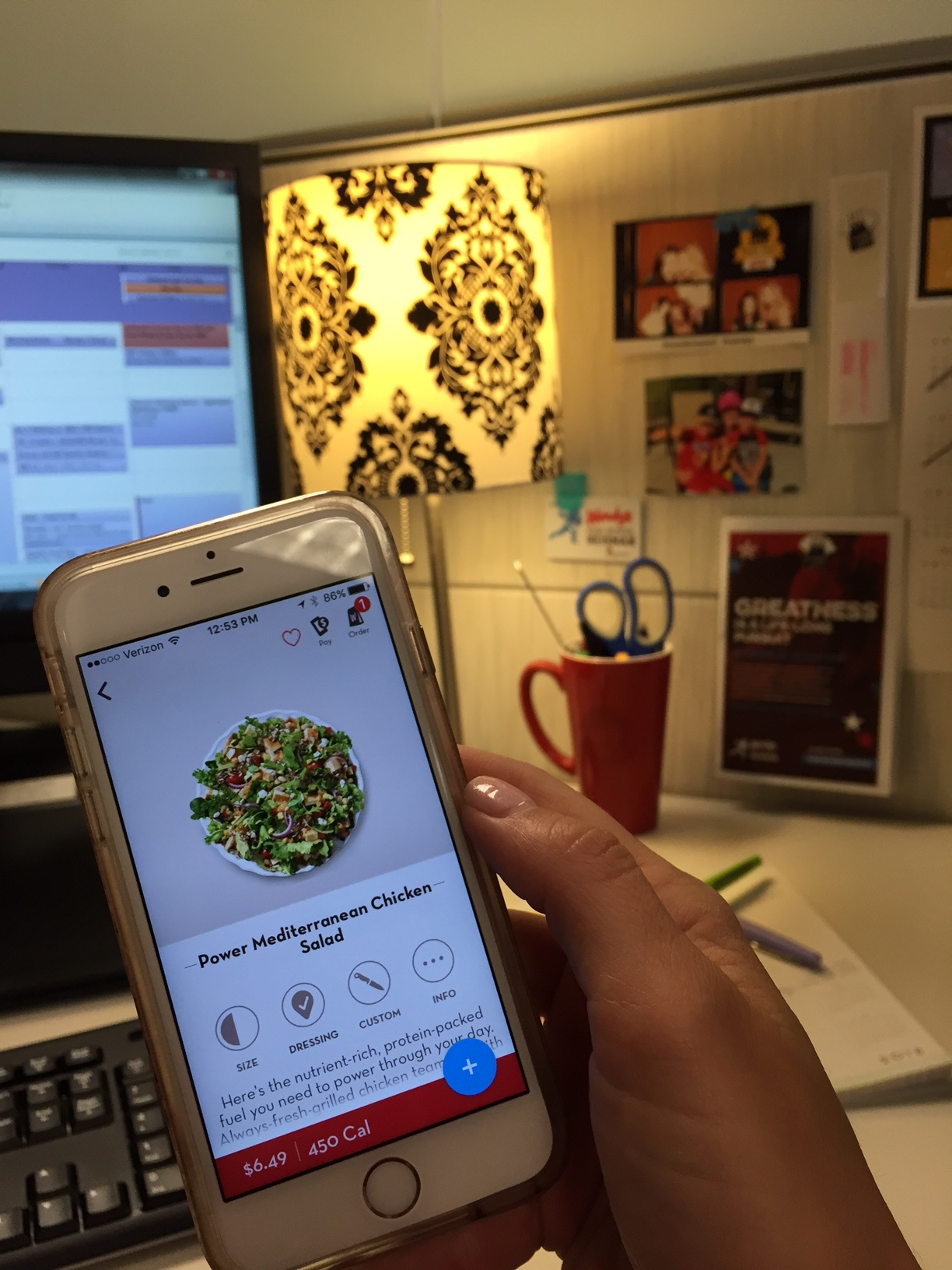 OUR MOBILE APP IS EASY TO USE, ALLOWS FOR CUSTOMIZATION AND CALCULATES NUTRITION INFORMATION