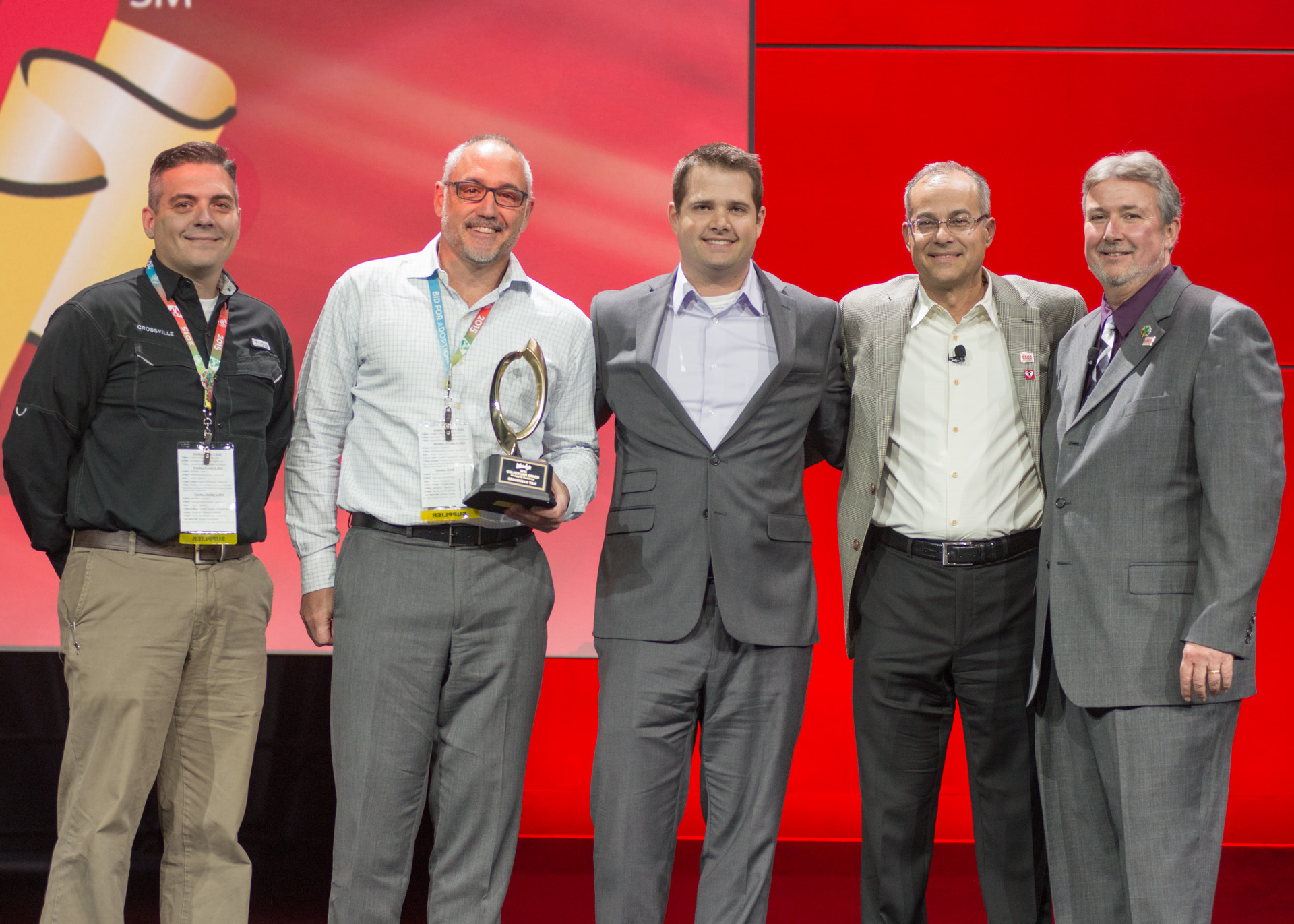 Golden Link Award Winner, Crossville Tile